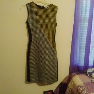 Belle by Badgely Mischka Sleeveless Dress S 2